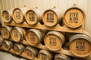 5 and 20 Spirits held a whiskey release party at their new facility in Westfield, NY.
